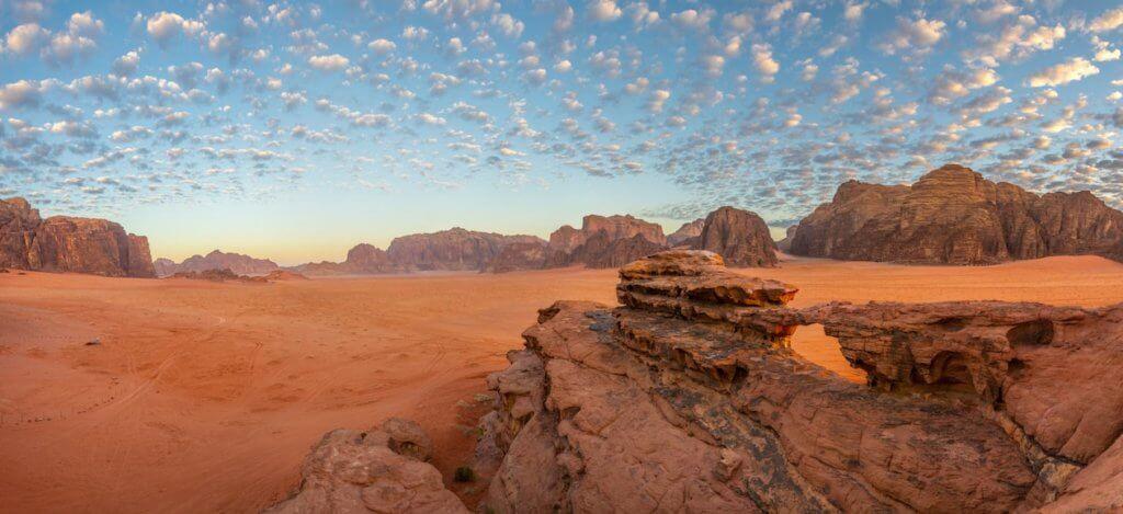 Désert du Wadi Rum - Jordanie - Aora voyages