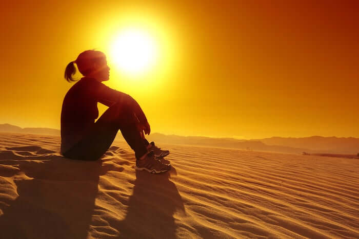 Meditation - Desert- Aora voyages